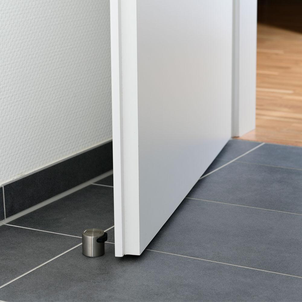 Türstopper Ø 38 mm in Edelstahloptik