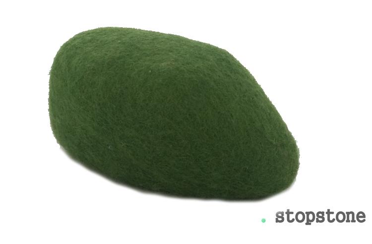Türstopper Stopstone - GRÜN - 1 Stück - ca. 1 kg
