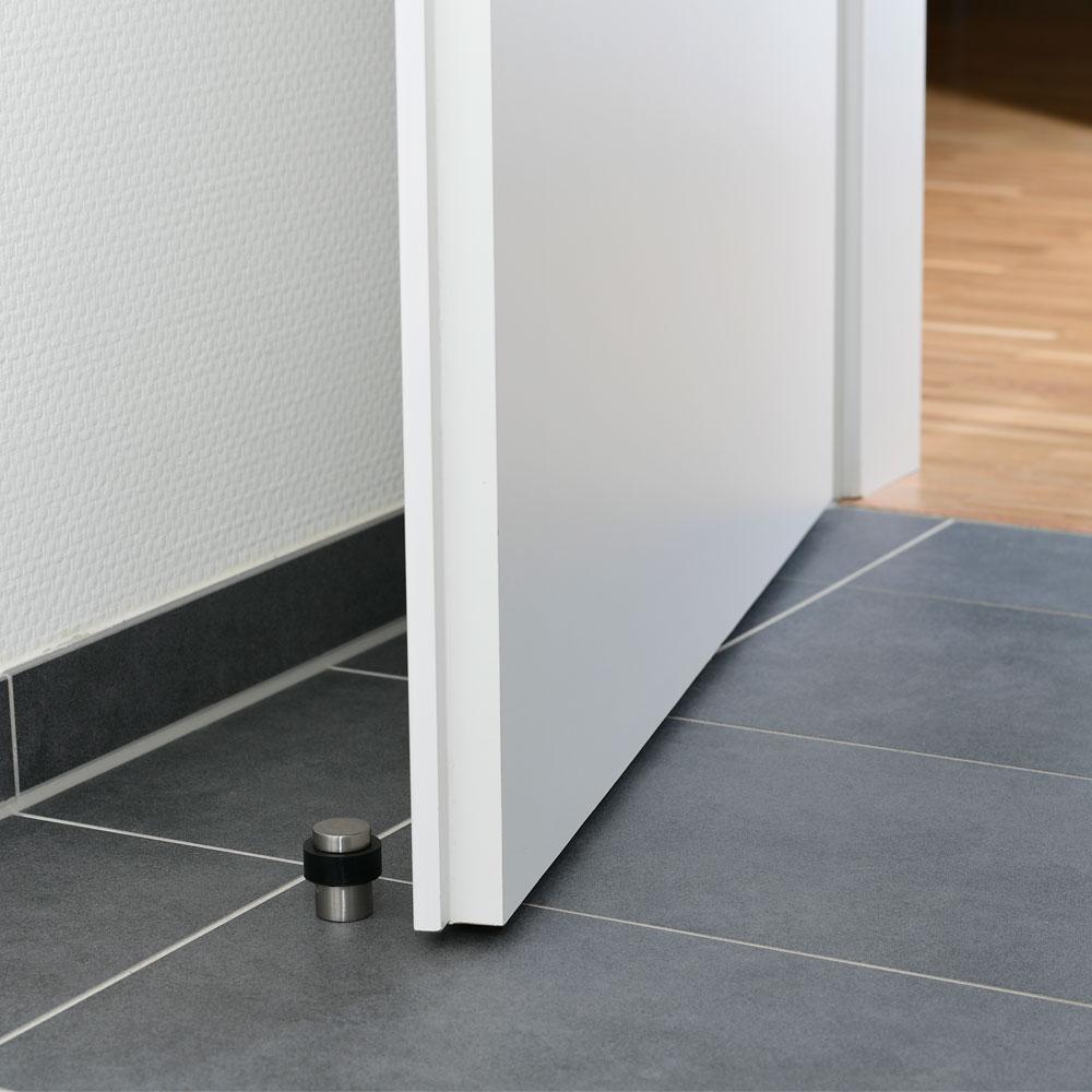 Türstopper Ø 36 mm in Edelstahloptik
