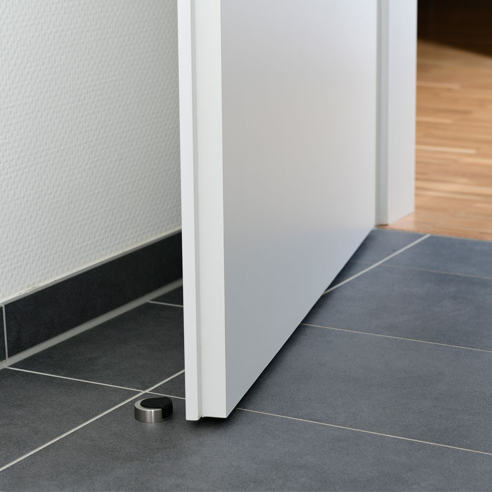 Türstopper Ø 39 mm in Edelstahloptik