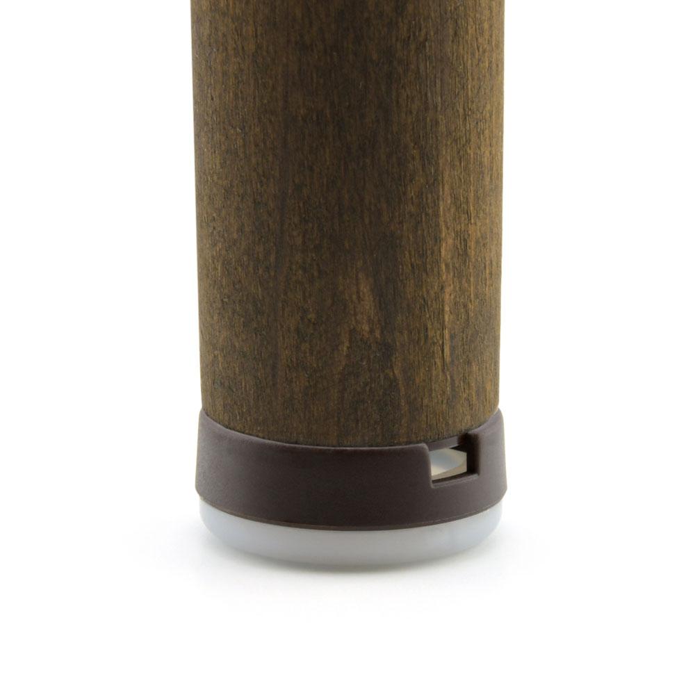 Schraubgleiter-Set Stopp Kunststoff Braun Gleiter-Ø: 25 mm