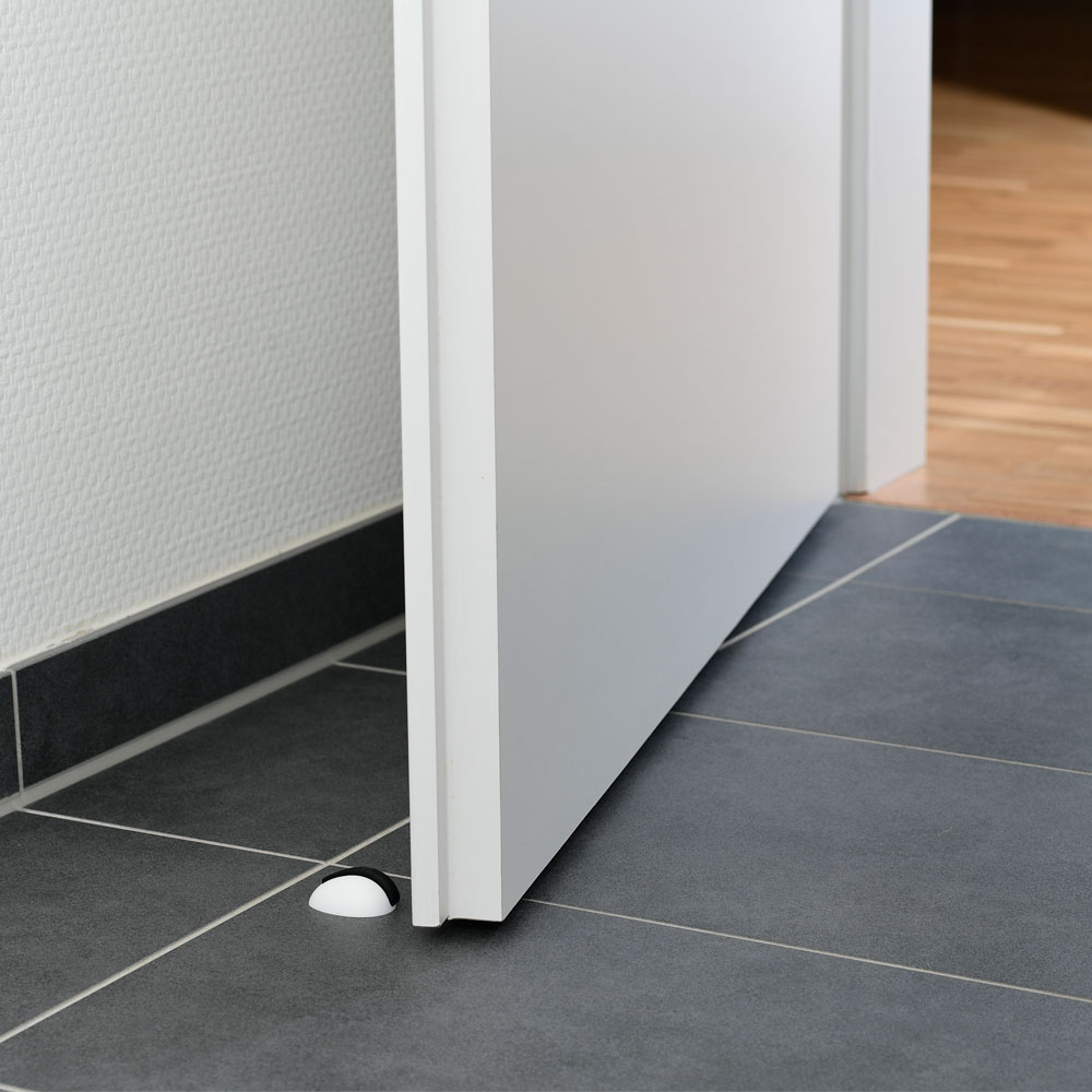 Wand- und Bodentürstopper aus Kunststoff
