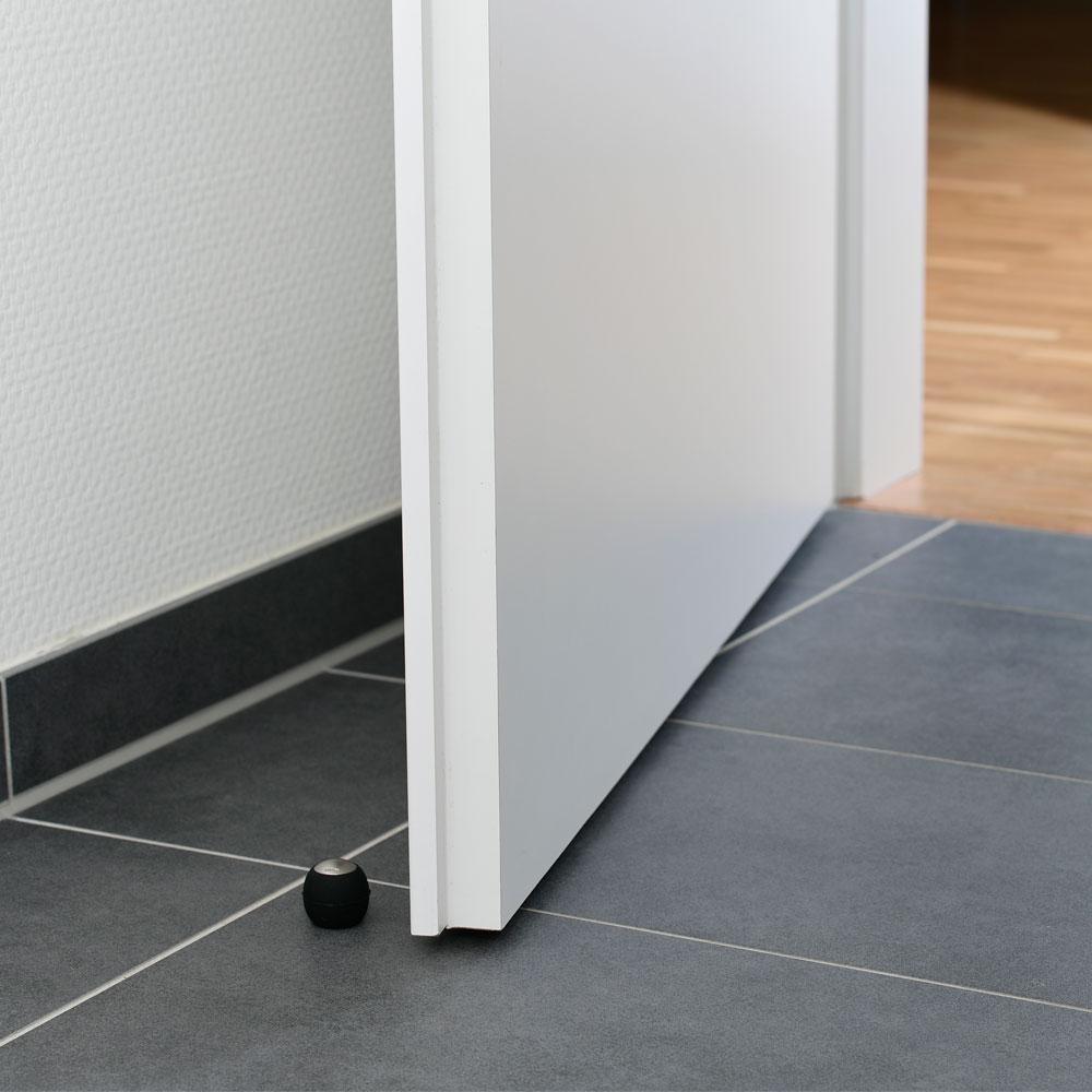 Türstopper Ø 30 mm in Edelstahloptik