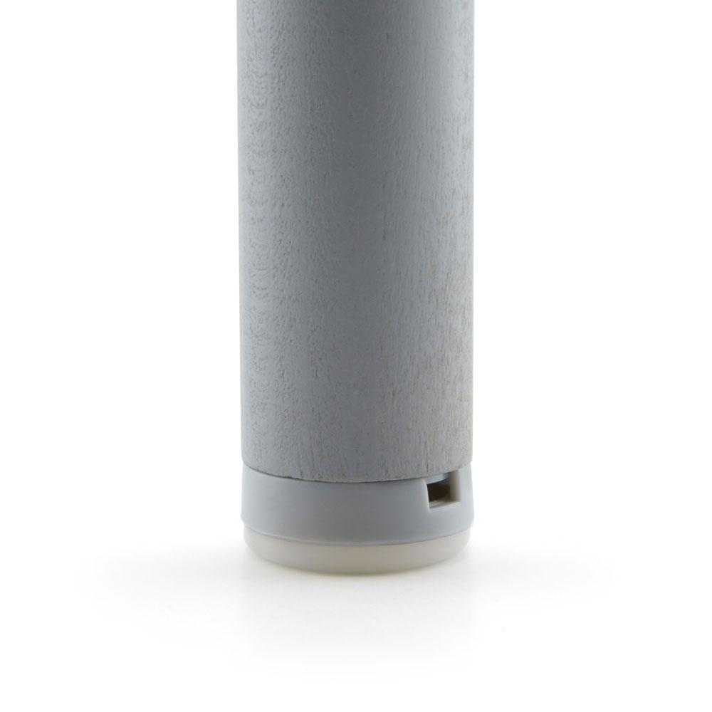 Schraubgleiter-Set Stopp Kunststoff Alu Gleiter-Ø: 20 mm